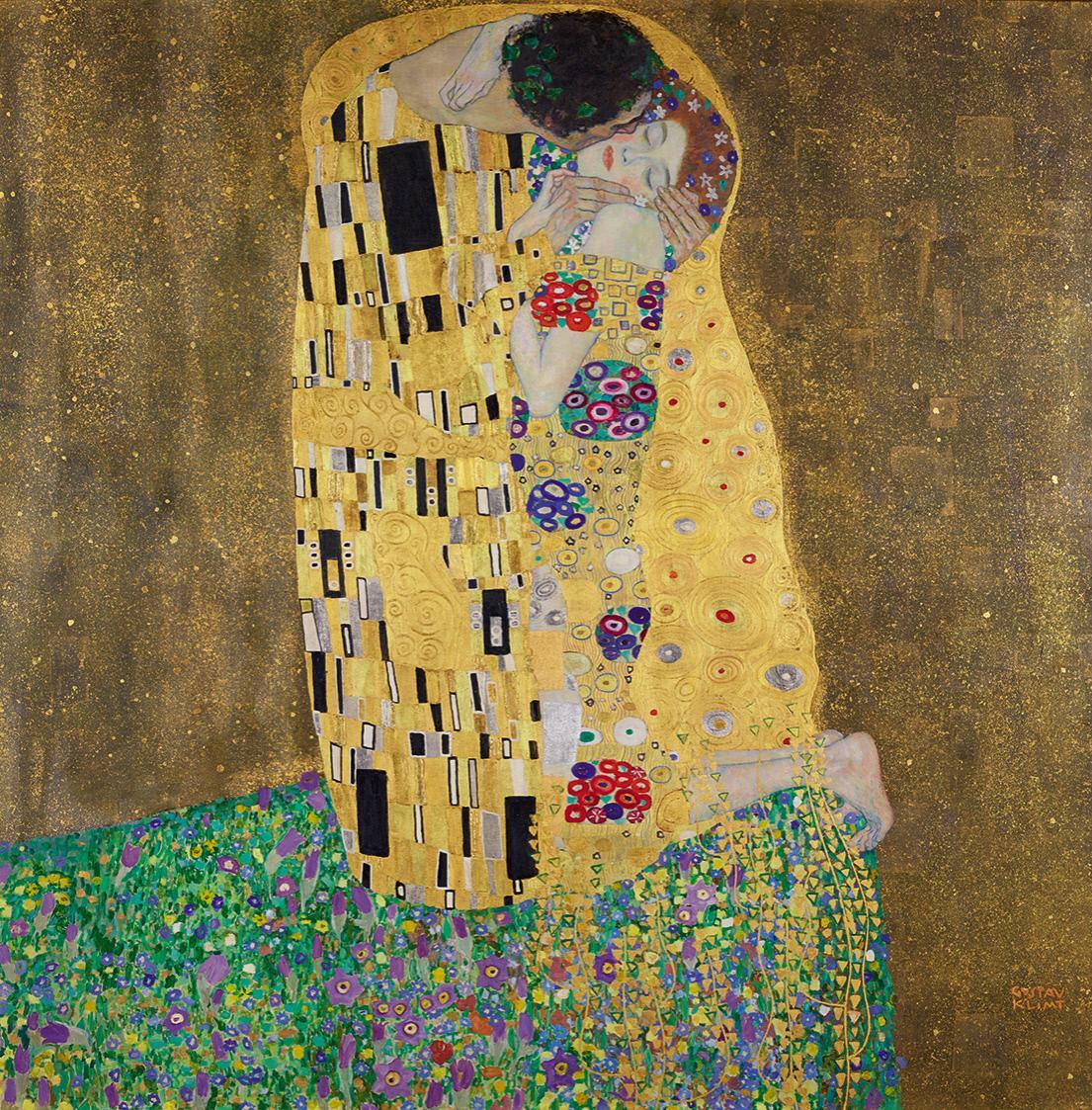 IL_BACIO_di_Gustav_Klimt