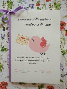 il manuale della perfetta testimone di nozze